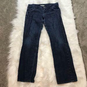 CAbi Jeans 201 Lou Lou Stretch Straight Leg Jeans
